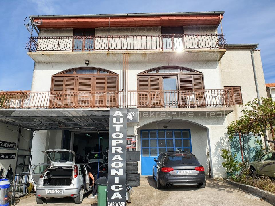 large house with business premises