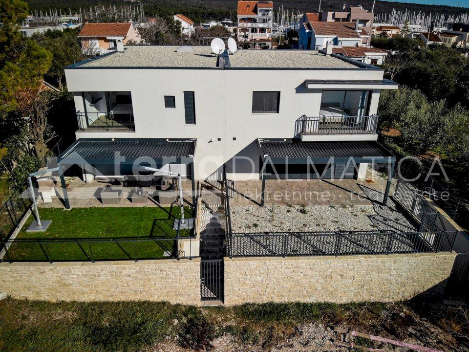 Zadar - semi-detached villa - appearance of the house